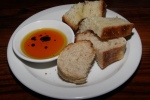 House bread, olive oil and balsamic vinegar