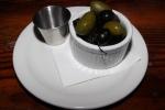 Warm Marinated Olives - bella, infornata, kalamata with rosemary, thyme, citrus $6.00