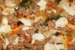 House-made Sausage - caramelized onion, mozzarella, chili oil $16.00
