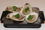 Fresh Le Mec Oysters - apple, jalapeño mignonette