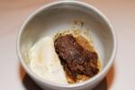 Lamb Cassoulet - braised pork & beans, confit leg presse & fried egg