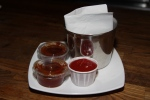 Ketchup and Barbecue sauce