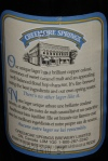 Creemore Springs Premium Lager 5% alc. / vol. Creemore Springs Brewery Limited