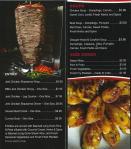 The Takeaway menu