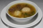 MATZO BALL SOUP chicken broth, parmigiano, shaved Burgundy black truffle $13.00