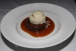 STICKY TOFFEE PUDDING pecan praline, spotted dick ice cream $12.00