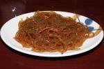 Korean clear cold noodles