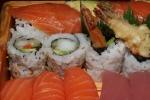 Love Boat $45.99 Sashimi 33 pieces; Sushi (Uni, Hamachi, Toro, Unagi, Salmon) 18 pieces; Roll 13 pieces