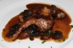 Caille Rôtie Forestière - roasted quail sautéed wild mushroom demi-glace