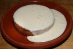 Basque cake, sherry cream $9