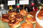 Breakfast donuts - Dulce de Leche & Crispy Jamon $4 - Dulce de Leche & Espelette Pepper $3