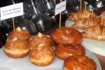 Breakfast donuts - Torta de Dehesa & Fennel Pollen $4 - Honey and Orange $3