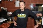 Chef Grant van Gameren in the kitchen
