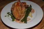 'JFC' Mennonite-farmed fried chicken, mash, tomato and preserved lemon mayo 19 ½