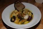 Mediterranean fish stew, fennel, fingerlings, saffron, tomato, pernod, pine nuts 26 ¼