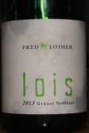 Fred Loimer lois 2013 Grüner Veltliner 12 ABV Niederösterreich Österreichischer Qualitätswein Austria