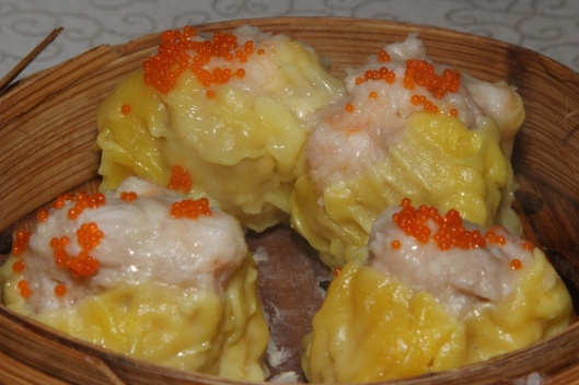 #3 Siu Mai - pork dumpling with scallop & fish roe L $3.00