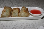 #29 Pan fried minced meat and vegetable dumpling M $3.00