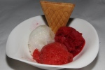 Nos Sorbets & Glaces - 3 scoops of house made sorbets $6,00