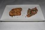 Tartare de Saumon - salmon tartare with herbs