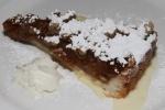 Tarte aux Pommes et Noix - apple walnut tart
