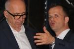 M. Alain Brumont and  Vincent Thebaud, Export Director Vignobles Brumont