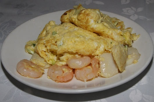 41 Scrambled Egg with Shrimp and Scallop $14.95