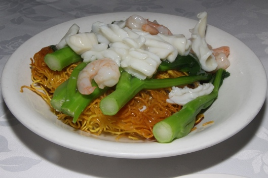 118 Fried Noodle with Seafood $12.50