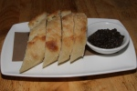 House bread with olive tapenade