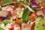 Nova Scotia Lobster Salad - avocado, blue cheese, maple bacon, bibb lettuce, buttermilk dressing $26.00