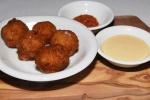 Salt Cod Fritters - kimchi mayo $5.00