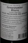 Gustave Lorentz Réserve Gewürztraminer 2013 Vin d'Alsace 750 ml 13%/vol