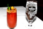 Bloody Caesar, spicy, very little ice $12