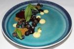 Blueberry & Lemon Curd - pistachio crumble