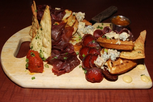 Butcher's Board | sausage, charcuterie, cheese, preserves, bread, crackers $23.98