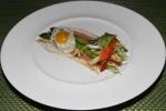 Niagara Prosciutto, Asparagus, Quail's Egg, Pickled Vegetables