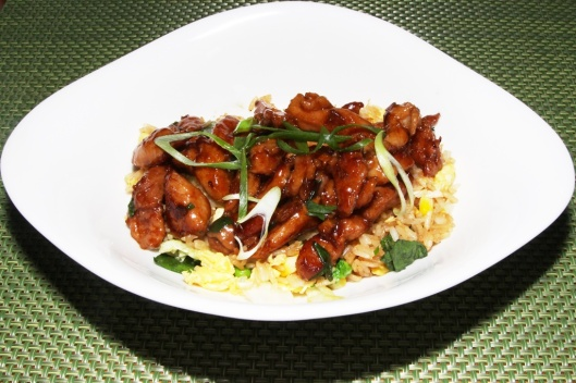 Chicken Stir-Fry, Hoisin Sauce, Jasmine Rice, Chinese Broccoli