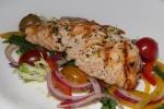 Grilled Salmon Niçoise Salad, Herb Dressing