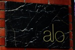 Alo Restaurant 163 Spadina Avenue (east side just south of Queen Street)