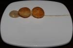 Pomme soufflé, black pepper and sherry aoli