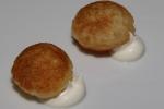Pomme soufflé, sour cream