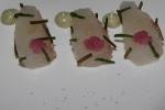Japanese Sea Bream - samphire, toasted nori, yuzu kosho powder aoli blanched sea beans diced kombu grated radish fleur de sel