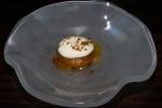 Cured egg yolk, maitaki mushrooms, hollandaise