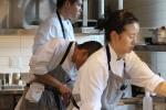 Kitchen staff concentration