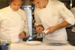 Executive chef/owner Patrick Kriss and sous chef Matthew Betsch
