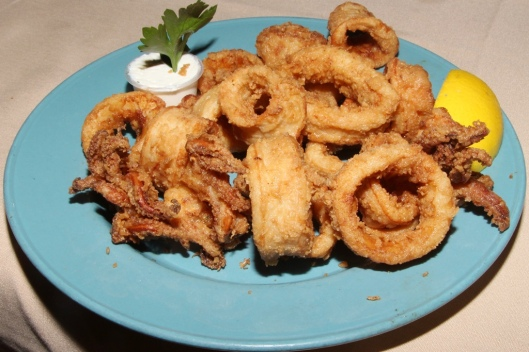 Fried calamari $14.95