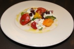 Apps - Heirloom tomato & herbed cottage cheese