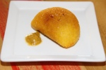 Valdez Empanada - ground beef with potato. peas, Latin-inspired spices, tomato, cornmeal and aji