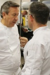 Daniel Boulud, Chef Cafe Boulud Jason Bangerter, Chef Langdon Hall