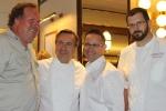 Norman Hardie, owner/winemaker, Norman Hardie Winery Daniel Boulud, Chef Cafe Boulud Jason Bangerter, Chef Langdon Hall Sylvain Assié, chef de cuisine, Cafe Boulud